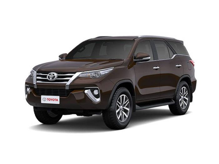 Toyota Fortuner 2.4 4x4 VRZ A/T